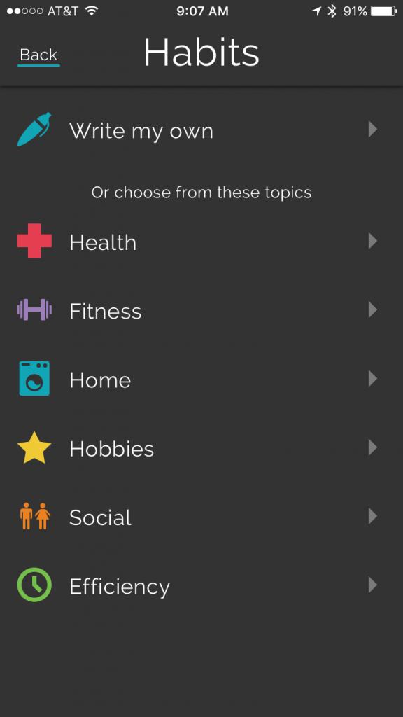 pre-made-habit-categories