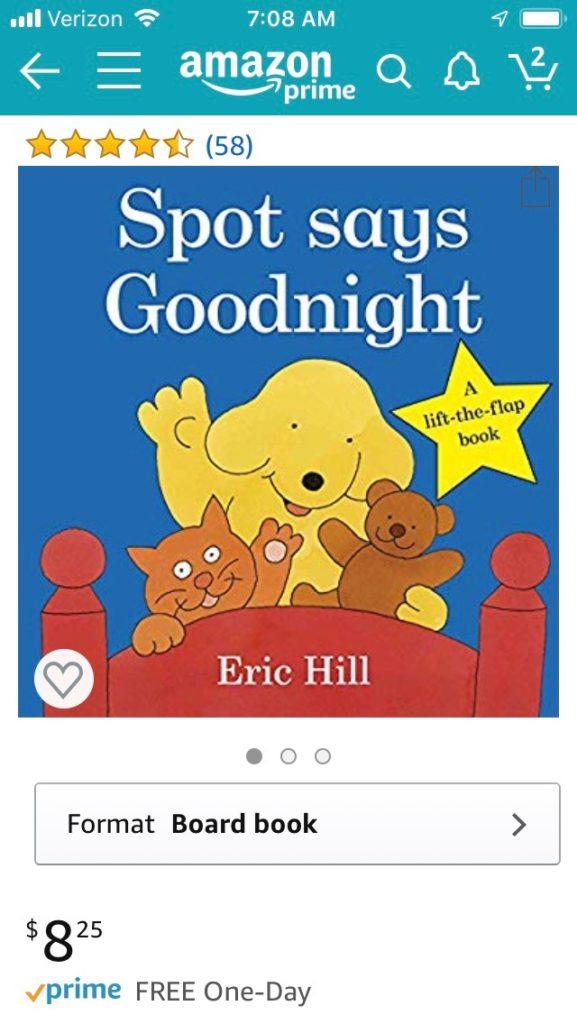 Spot book