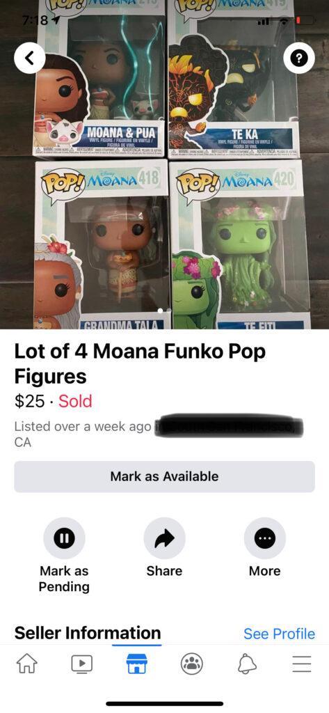 Moana POP dolls